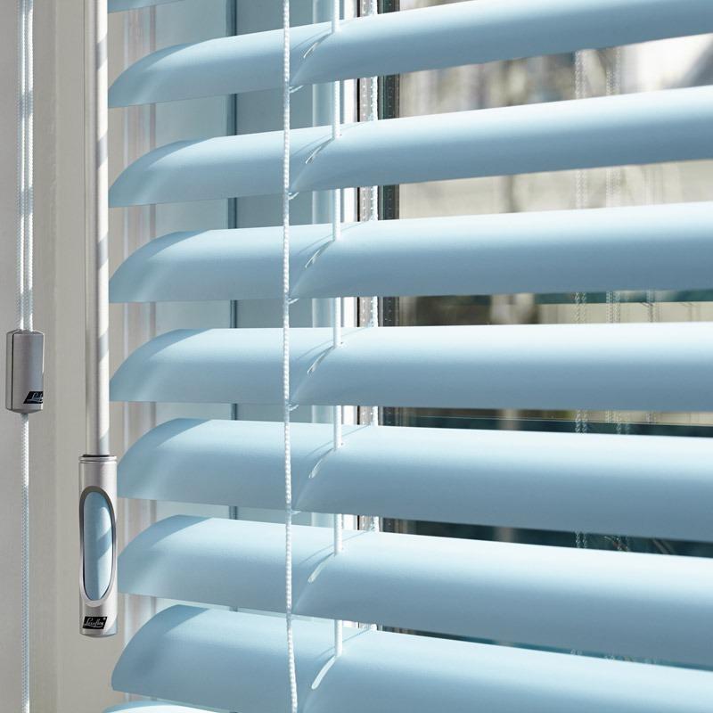 misol horizontale jaloezieën zijn verkrijgbaar in diverse breedtes, kleuren en materialen.