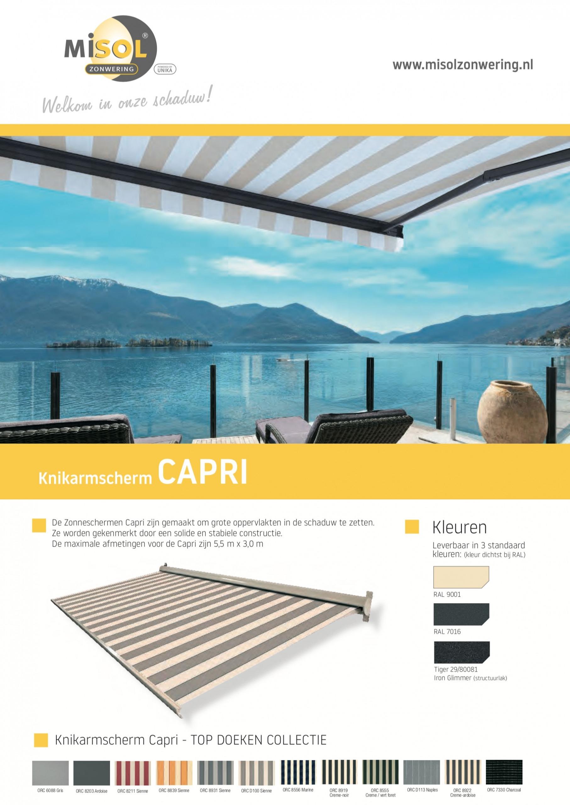 Capri - Misol Huismerk