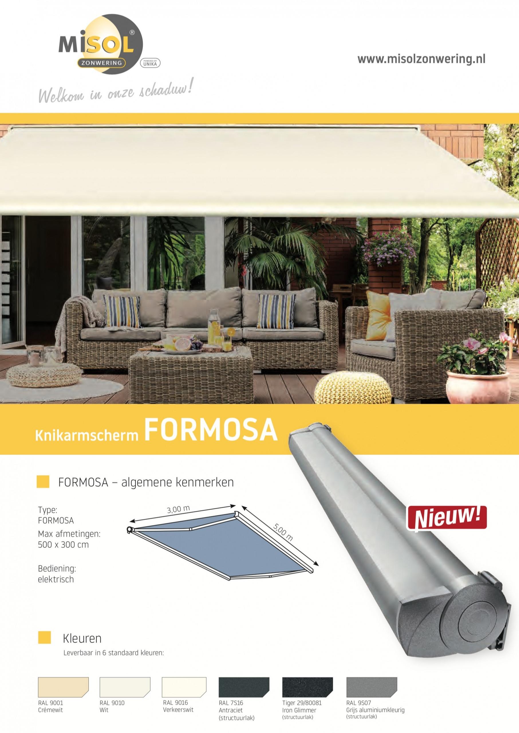 Formosa - Misol Huismerk